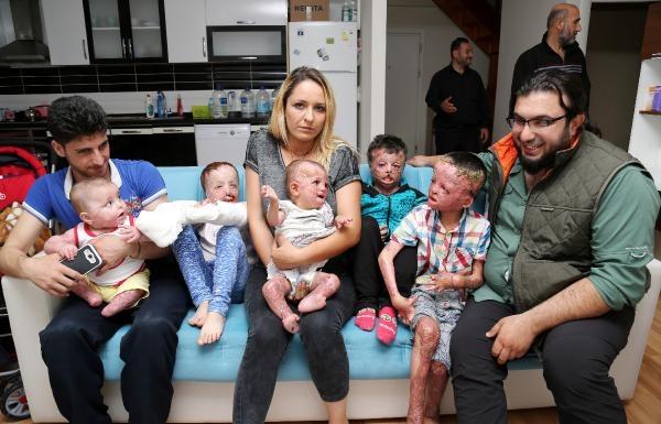 Suriyeli çocukları savaş yaktı...