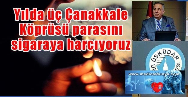 Prof. Dr. İbrahim Öztek: Yılda üç Çanakkale Köprüsü parasını sigaraya harcıyoruz