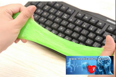 Bilgisayar klavyesinde santimetreküp başına 13 bin bakteri bulunuyor ?