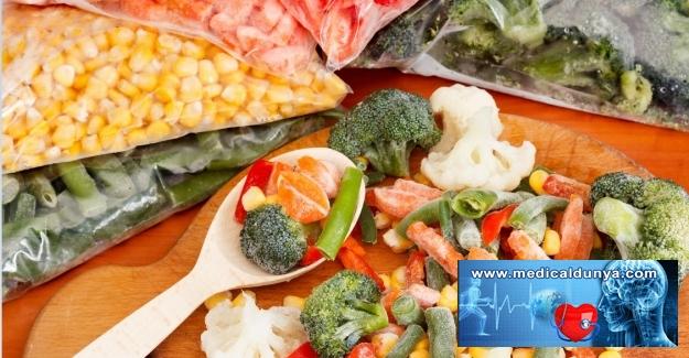 Dondurulmuş veya konserve sebze ve meyvelerin besin değeri değişiyor du?
