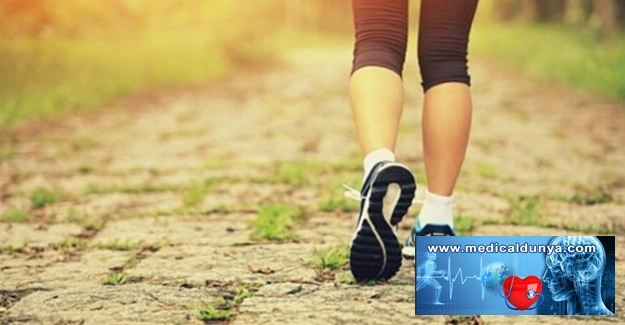 Günde en az 8 bin adım atın
