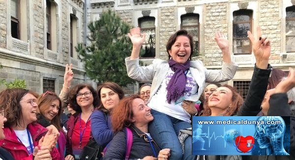 İstanbul Tabip Odası başkanlığına Prof. Dr. Pınar Saip seçildi