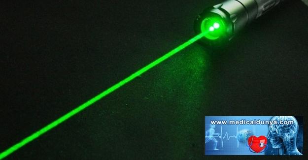 Lazer pointer ve şovlar görme kaybına yol açabilir