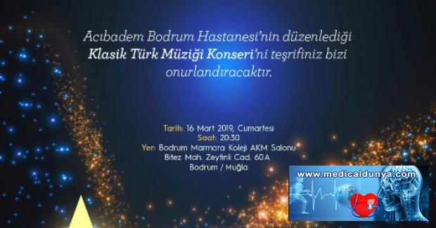 14 MartTıpBayramı'na özel konser