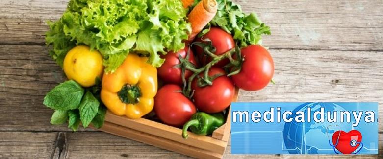 Sebze ile beslenmek inme riskini artırıyor