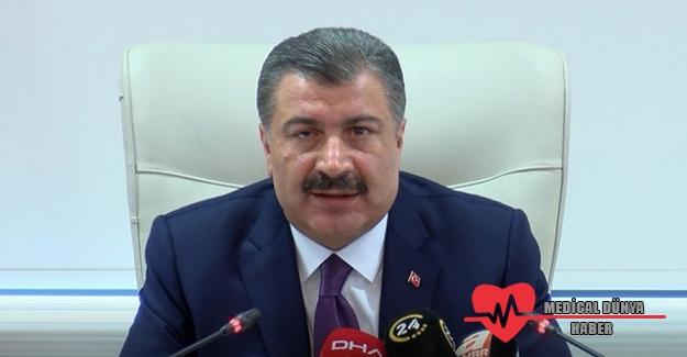 Sağlık Bakanı Koca Türkiye'deki Koronovirüs sayısını açıkladı