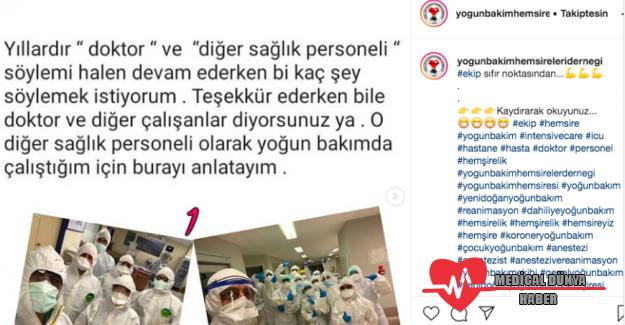 Sağlık çalışanlarının 'diğerleri' tepkisi sosyal medyayı salladı
