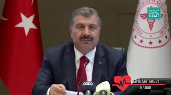 Sağlık Bakanı Koca, Türkiye'nin güncel korona verilerini açıkladı!