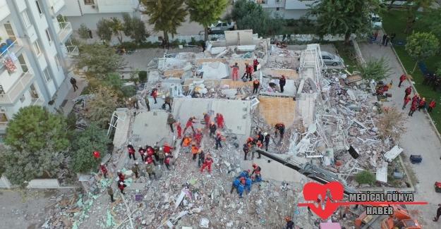 Ege depreminde ölü sayısı 25, yaralı sayısı ise 804 oldu