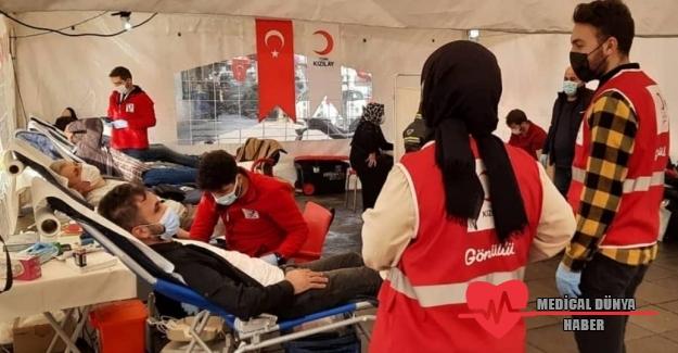 Eyüpsultan'da Kan Bağışı Seferberliği