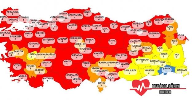 Koronavirüs'te Türkiye kızardı; Rakamlar 40 bine yaklaştı