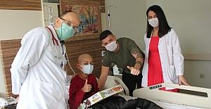 Cihan Çayan Duman'dan çocuklara moral