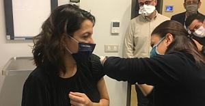 Acıbadem Ankara Hastanesi Çalışanları Aşılarını Oldu