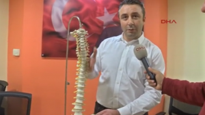 Türkiye'nin yüzde 3'ünde omurilik eğriliği var